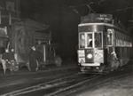 The Last Tram No. 177 from Richmond Road; Graham C. Stewart (b.1932); 08/092/063