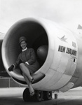 Air New Zealand promotional photograph; Unknown Photographer; 1966; 14-6111