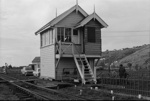 Photograph of signal box; Les Downey; 1972-1976; 14-4031