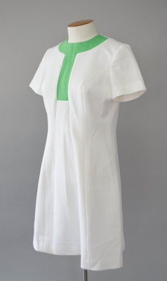 Uniform Dress [National Airways Corporation]; National Airways Corporation (New Zealand, estab. 1947, closed 1978); 1970-1976; 2016.35.22