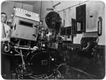 Motion picture projection room; J G McGuire; 1930s; 13-2265