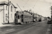 [Trams to Epsom Depot, Showgrounds, and Onehunga in a line by Epsom Depot buildings]; Unknown Photographer; [1940s-1950s]; PHO-2017-5.24