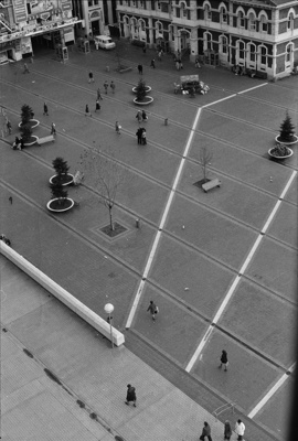 Photograph from Christchurch cathedral spire; Les Downey; 1972-1976; 14-3688