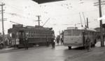 Trolley bus trial run; Graham C. Stewart (b.1932); 3 July 1949; 08/092/361