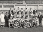 [Unidentified rugby team]; Sutcliffe Photography; 1960s?; 14-0897