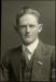 Black and white studio portrait of Basil Longmuir Orr; Circa 1918; 04/071/012