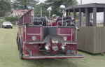 Photograph of fire engine; Les Downey; 1972-1976; 14-4148