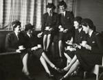 TEAL Stewardesses; Unknown Photographer; Aug 1946; 15-0137