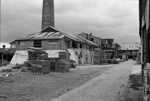 Photograph of Crum Brick & Tile Company sidings; Les Downey; 1972-1976; 14-2169