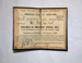 Ticket [Parliamentary Special Ticket]; New Zealand Railways; 1908; 2011.497