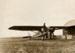"Wakefield escort plane De Havilland DH75 ""Hawk Moth ""refuelling at  Longreach, Queensland; Unidentified; 10-0823"