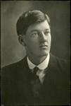 Black and white studio portrait of Malcolm Charles McGregor; Circa 1918; 04/071/026