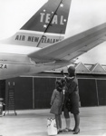 Air New Zealand promotional photograph; Unknown Photographer; 1966; 14-6110