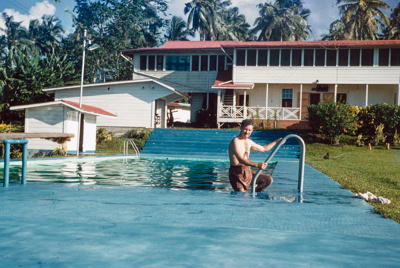 """Slide from the """"Pacific Islands Coral Route"""" by Maurice McGreal; Maurice E. McGreal (b.1918); 1950s; 04/038/040"""