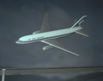 Air New Zealand Boeing 767; Mannering and Associates Limited; 08/117/1478