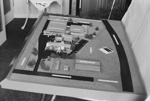 Photograph of chemical factory model; Les Downey; 1972-1976; 14-1674