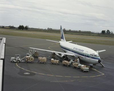 Air New Zealand Boeing 737; Mannering and Associates Limited; 08/117/219