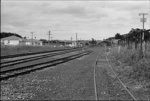 Photograph of approach to Kaukapakapa railway station; Les Downey; 1972; 14-2493