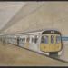 [Auckland Rapid Transit: Concept for train A and downtown station]; Gifford Jackson (b. 1920, d. 2013); [1974]; ART-2017-8.1