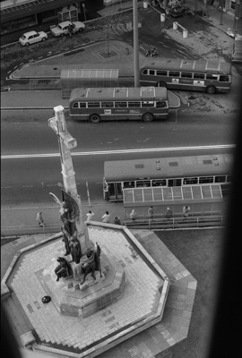 Photograph from Christchurch cathedral spire; Les Downey; 1972-1976; 14-3690