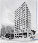 Artists Impression of NAC Head Office; Unknown Photographer; Unknown; 14-6352
