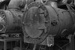 Photograph of ex-rail factory boilers; Les Downey; 1972-1976; 14-1245