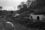 Photograph of abandoned Huntly mining area; Les Downey; 1972-1976; 14-3770