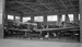 Royal New Zealand Air Force Technical Training School Hanger, Hobsonville. 2 North American Harvards, a De Havilland DH98 Mosquito and an Airspeed Oxford; Les Downey; 1948-1949; 05/026/014