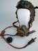 Uniform Helmet [Flight Helmet and Oxygen Mask Set]; 1969.218.8