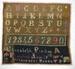 Sampler; Elizabeth A Proctor; 1874; 2010.444