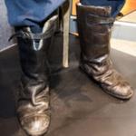 Uniform Boots [Escape Boots]; Circa 1940; 2004.18