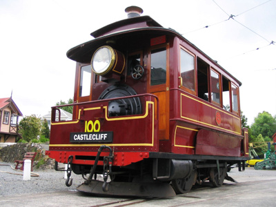 Tram [No.100 (Steam)]; Baldwin Locomotive Works; 1891; 2004.310