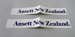 Stickers [Ansett New Zealand]; Ansett New Zealand (estab. 1987, closed 2001); 2016.36.91