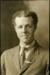 Black and white studio portrait of James Woods; Circa 1918; 04/071/023