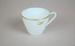 Teacup [Teal]; Noritake (Japan, estab. 1904), Tasman Empire Airways Limited (New Zealand, estab. 1940, closed 1965); 2004.455