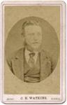 Portrait photograph of man; C. H. Watkins; 13-1052