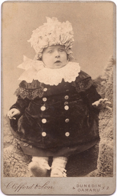Photograph of a baby; Clifford and Son; 13-1065