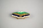 Badge [Hawera Aero Club]; Hawera Aero Club (estab. 1929); Birmingham Metal Company; 2003.537