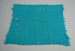 Blanket [Teal]; Onehunga Woollen Mills Limited (New Zealand, estab. 1889); 2004.472