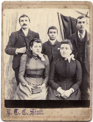Group photograph of a family; B. C. C. Scott; 13-1111