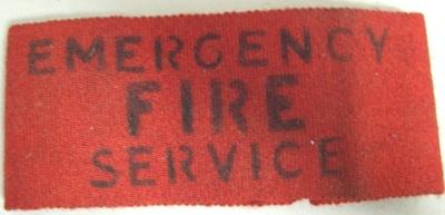 Armband [Emergency Fire Service]; F721.2002