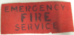 Armband [Emergency Fire Service]; F721.2002