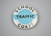 Badge [School Traffic Corps]; New Zealand Ministry of Transport (New Zealand, estab. 1968); 2017.16.1