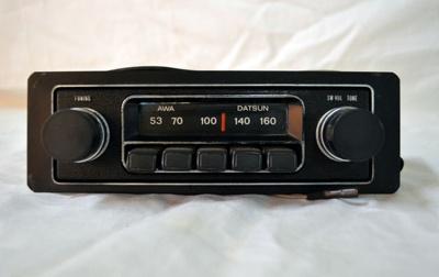 Car Radio [AWA Datsun]; Amalgamated Wireless Association (Australia, estab. 1909); Circa 1970; 2002.109