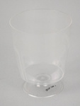 Wine Glass [NAC]; A.H.L. Plastic Products Moulding Co.; National Airways Corporation (New Zealand, estab. 1947, closed 1978); 2016.149.7