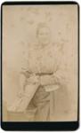 Portrait photograph of a woman; Unidentified; 13-1053