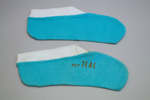 InFlight Socks [Teal]; Tasman Empire Airways Limited (New Zealand, estab. 1940, closed 1965); 2011.500