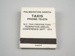 Matchbook [Palmerston North Taxis]; 2016.167.91