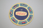 Coaster [Teal]; Tasman Empire Airways Limited (New Zealand, estab. 1940, closed 1965); 2002.82.3