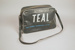 Airline Bag [Teal]; Tasman Empire Airways Limited (New Zealand, estab. 1940, closed 1965); 2013.329